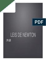 Leis de Newton 3ª LEI
