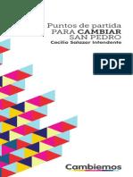 """Plataforma de Gobierno - """"Cambiemos"""" San Pedro"""