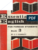Essential English for Foreign Students. book 3