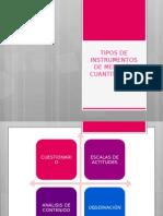 Tipos de Instrumentos de Medición Cuantitativos