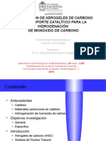 Preparación de Aerogeles de Carbono Como Soporte Catalítico