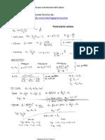 Termodinamica - Formulario Per Trasmissione Del Calore