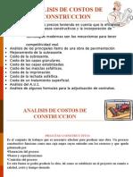 Especialización Pavimentos-Analisis de Precios