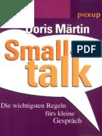 Doris Martin Smalltalk. Die Wichtigsten Regeln FBookZZ.org