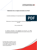 Informe Final Mapeo Clusters