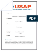 Plan de Negocio de tortilleria Selecta