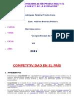 Competitividad en El País