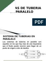 Sistema de Tuberias en Paralelo