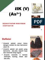 Dzakiyyatur Rosyidah 3325122138 Arsenik (v)