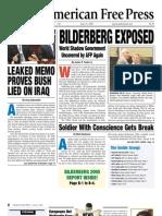 American Free Press - Bilderberg Exposed (Issue 21 - May 23, 2005)