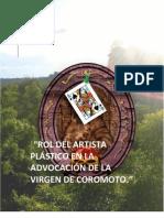 Rol Artista Plastico Advocacion Virgen de Coromoto