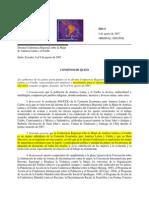 Consenso de Quito 2007