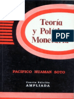 Teoria y Politica Monetaria
