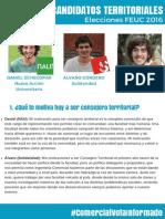 Entrevista Candidatos Territoriales