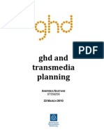 ghd and transmedia planning