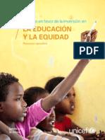 La Educacion y La Equidad 2015 2
