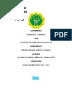 Monografia Intervenciojn Policial