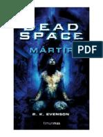 Evenson Brian - Dead Space Martir
