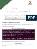 Seguridad en los sistemas Linux