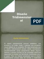 Diseño Tridimencional