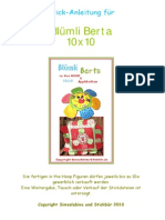 Anleitung Bluemli Berta