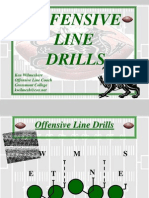 Offensive Line Drills