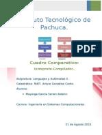 U1 Cuadro Comparativo- Intérprete y Compilador