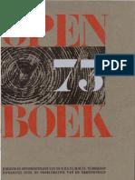 open boek 73