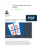 Universidad Católica Impulsa Desarrollo de Huertos Sustentables