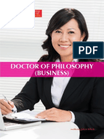Brochure Phd Business II