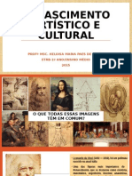 Renascimento Artístico e Cultural