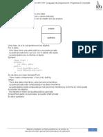 """03) Gonzáles, L. a. (2000). """"Clases"""" en INFO 161. Lenguajes de Programación Programación Orientada a Objetos. Chile Valdivia, Pp.7-17"""