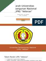Sejarah Universitas Pembangunan Nasional (UPN)