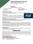 20100321 Announcements Print