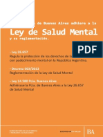 Ley 14580 Salud Mental Prov Bs As