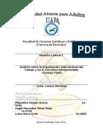 Organización Internacional Del Trabajo (Trabajo Final)