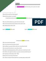 artist exploration worksheet