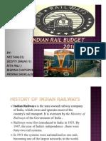 Railway Budget 2010-2011