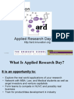 ARD Info Session Presentation