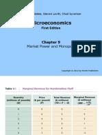 Microeconomía - Capitulo 9