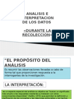 Analisis e Interpretacion