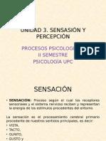 """Sensación y Percepción. """"UPC"""""""
