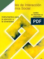 Habilidades de interacción y autonomía social_instrumentos de atención a la diversidad