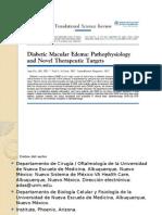 Edema Macular Diabético Presentacion