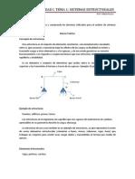 Estatica, Tema 1. Unidad I