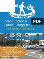 Introduccion a calles completas.
