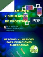 Moldeamiento y simulacion