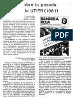 Análisis del MST de la huelga de la Utier de 1981