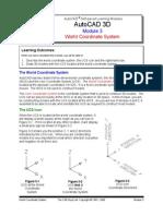 AutoCAD 3D Module