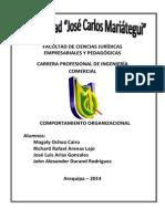 AguaymComportamiento empresarial ujcm